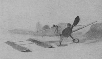Arrow Model F model airplane plan