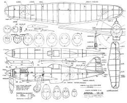 ArsenalVG-39 model airplane plan