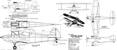 Astro Bipe 54in model airplane plan