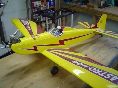 ASTROHOG model airplane plan