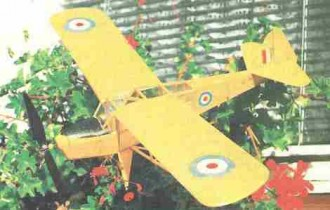 Auster Mk III model airplane plan