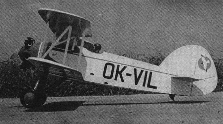Avia BA 122 model airplane plan