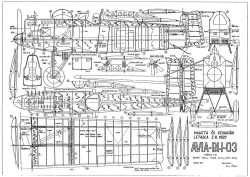 Avia BH 03 model airplane plan