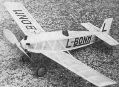 Avia BH 11 model airplane plan