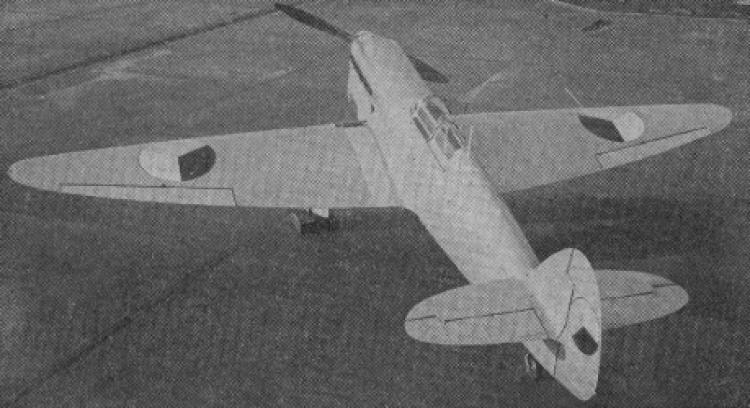 Avia B 135 model airplane plan
