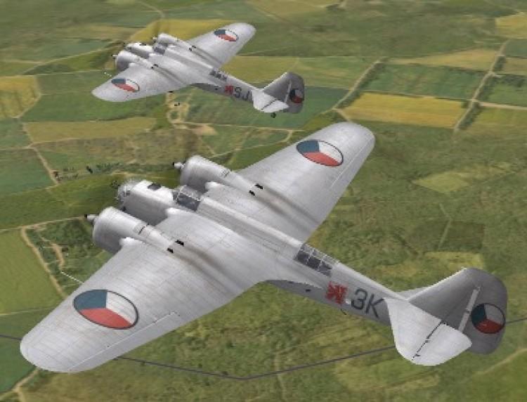 Avia B 71 model airplane plan