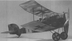 Aviatik D-1 model airplane plan