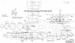 Avro Canada CF-100 Canuck model airplane plan