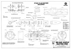 Axiflo RK-049 Ducted Fan model airplane plan