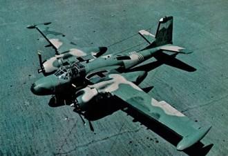 B-26K Invader model airplane plan