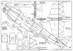 BAM Swallow 62in model airplane plan