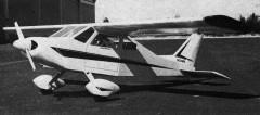 BD-4 model airplane plan