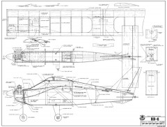 BD-6 model airplane plan