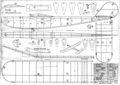 Baby 1941 model airplane plan