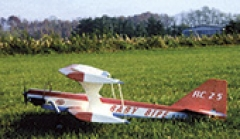 Baby Bipe model airplane plan