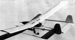 Baby Boomer model airplane plan