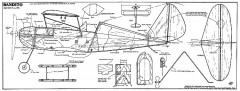 Bandito. model airplane plan
