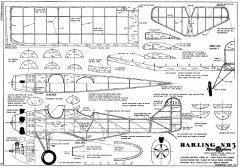 Barling NB-3 model airplane plan