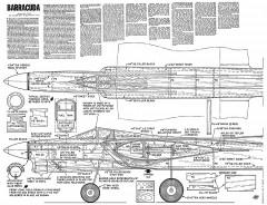 Barracuda CL model airplane plan
