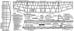 Batiri model airplane plan