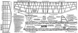 Batiri model airplane plan