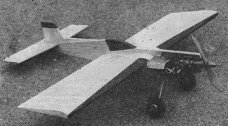 Bazant model airplane plan