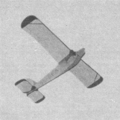 Be-60 Bestiola model airplane plan