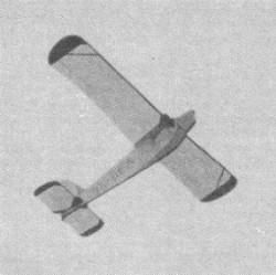 Be-60 Bestiola model airplane plan