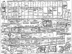 Beachcomber model airplane plan