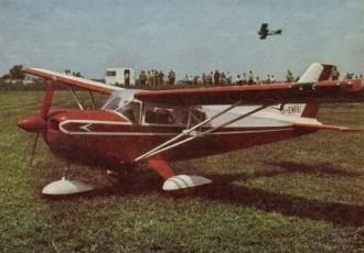 Beagle A-109 model airplane plan