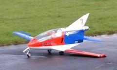 Bede 5 J model airplane plan