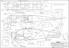 Bede BD-6-FM 09-75 model airplane plan