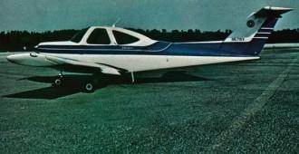 Beeachcraft Skipper model airplane plan