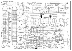 Beech 17 model airplane plan