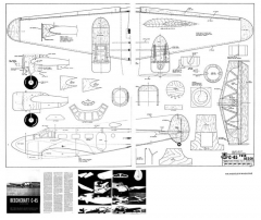 Beechcraft C-45 model airplane plan