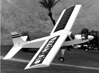 Begin Air Trainer model airplane plan