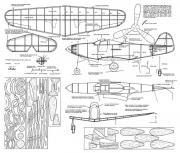 Bell P-39 Airacobra 2 model airplane plan