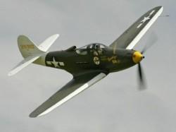 Bell P-39 Airacobra model airplane plan