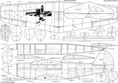Bell P-39 Airacobra model airplane plan