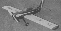 Bella model airplane plan