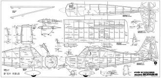 Bellanca Decathlon 40 model airplane plan