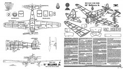 Bellanca Jr 16in Whitman model airplane plan