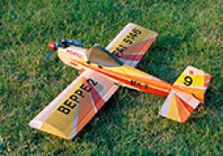 Beppe II model airplane plan