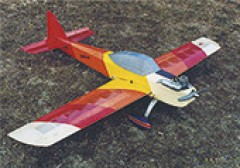 Beppe V model airplane plan
