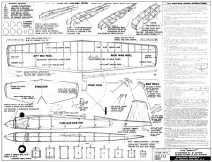 Berkeley Bandit model airplane plan