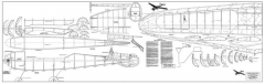 Berkeley Custom Cavalier 108 model airplane plan