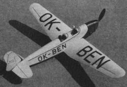 Beta Major Be 250 model airplane plan