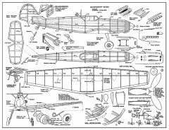 Bf109E McHard (revised) model airplane plan