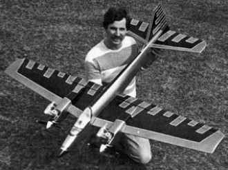 The Big Apple model airplane plan