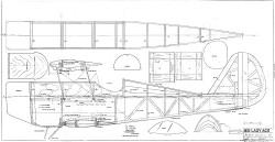 Big Lazy Ace model airplane plan